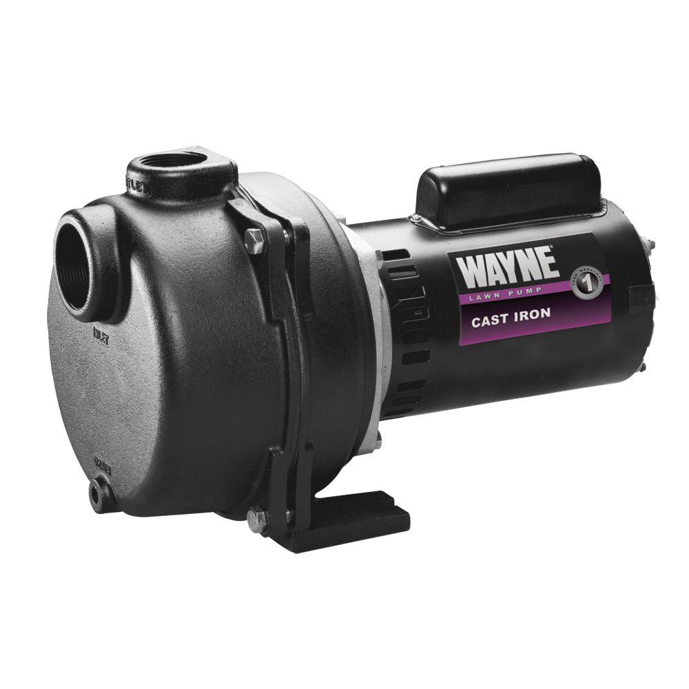 Wayne 1-1/2 HP Cast Iron Quick-Prime Lawn-Sprinkler Pump