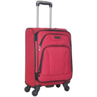 Wicker Park Collection Lightweight Durable Softside 600D Polyester 4-Wheel Expandable 20 in. Carry-On Luggage