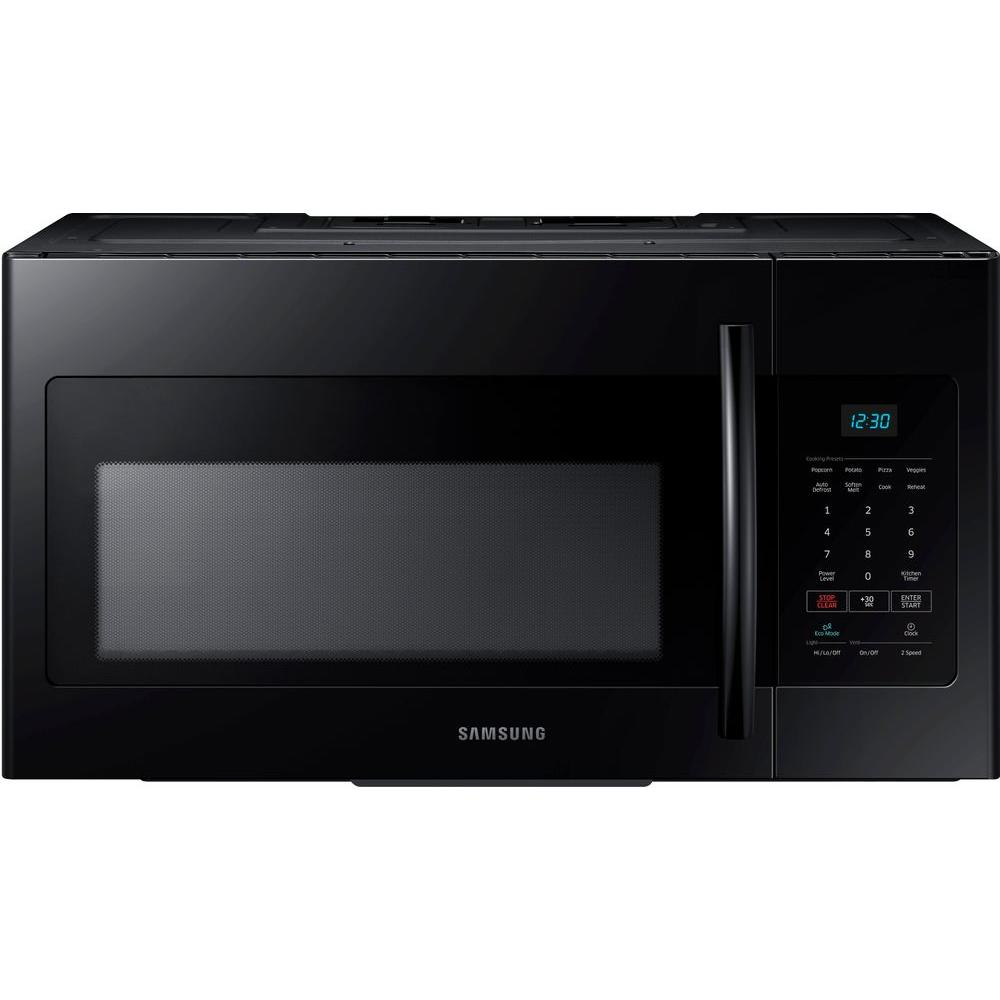 Samsung 30 in W 16 cu ft Over the Range Microwave in Black