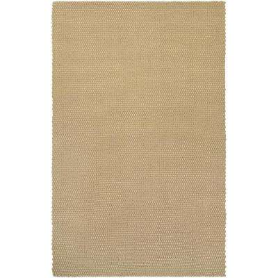 Nature's Elements Air Oatmeal 3 ft. x 5 ft. Area Rug