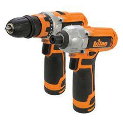 12-Volt Lithium-Ion Cordless Drill Driver and Impact Driver Combo Kit (2-Pack)