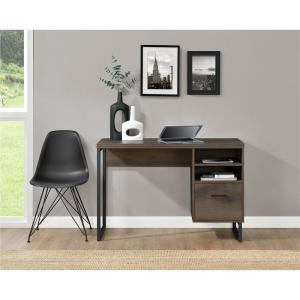 altra furniture aden corner glass computer desk. candon sonoma mocha oak desk with storage. altra furniture aden corner glass computer