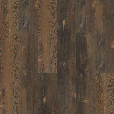 Take Home Sample - Pinebrooke Clay Click Resilient Vinyl Plank Flooring - 5 in. x 7 in.
