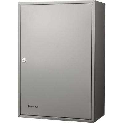 300-Position Steel Key Cabinet with Key Lock, Grey