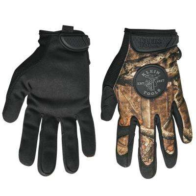 Large Journeyman Camouflage Work Gloves