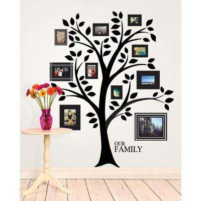 "48 in. x 36 in. Tree of ""R"" Life Giant Wall Decal"