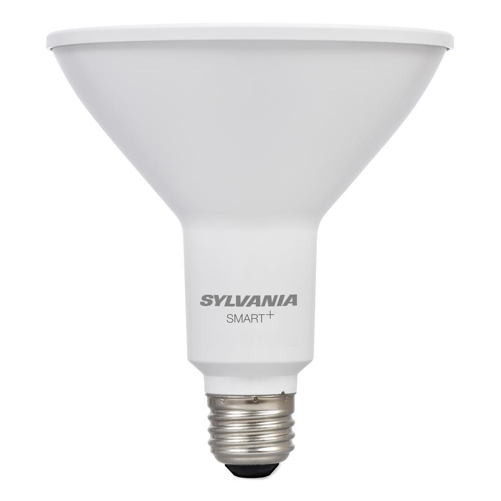 Sylvania 120W Equivalent Soft White PAR38 Flood LED Light Bulb ...