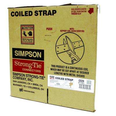250 ft. 20-Gauge Coiled Strap