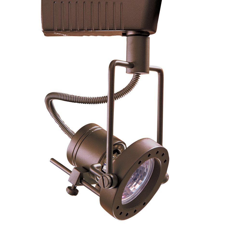 6401 Series Low-Voltage MR16 Oil-Rubbed Bronze Track Lighting Fixture