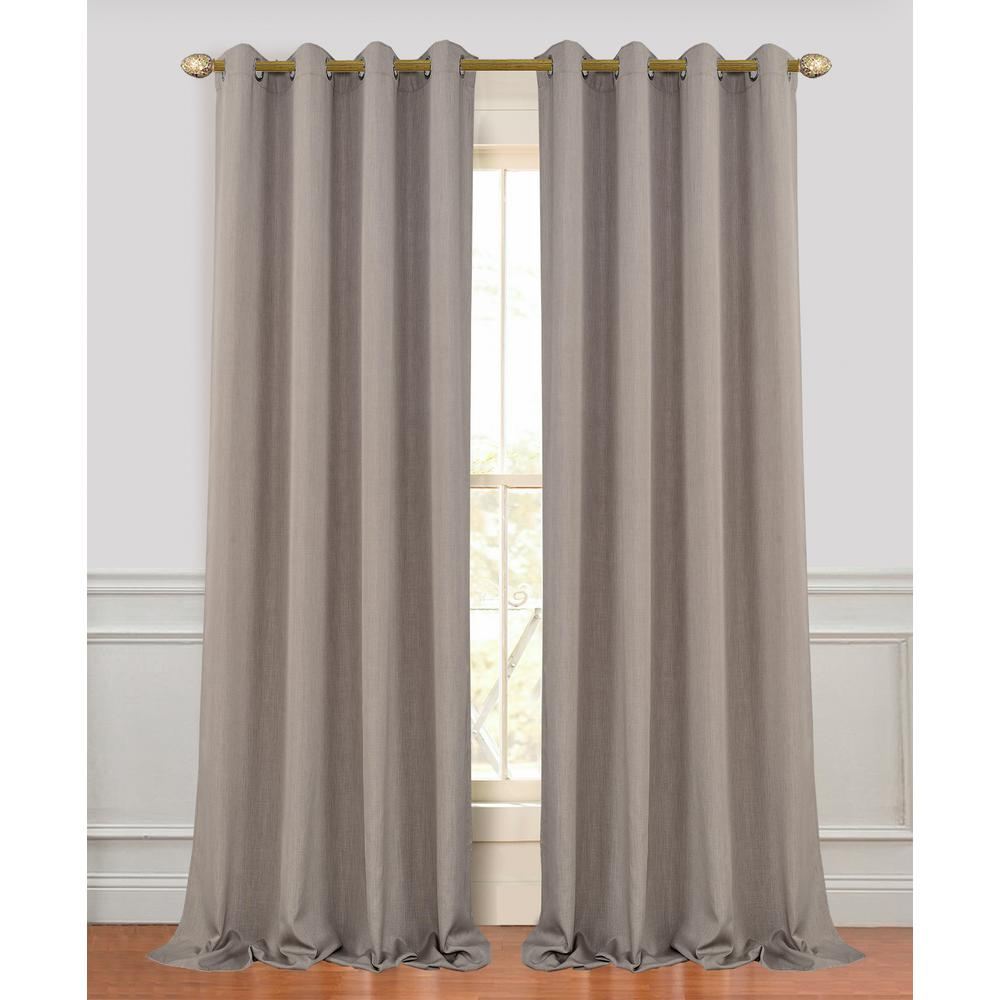 Dainty Home Madison 96 In. L Polyester Extra Long And Wide