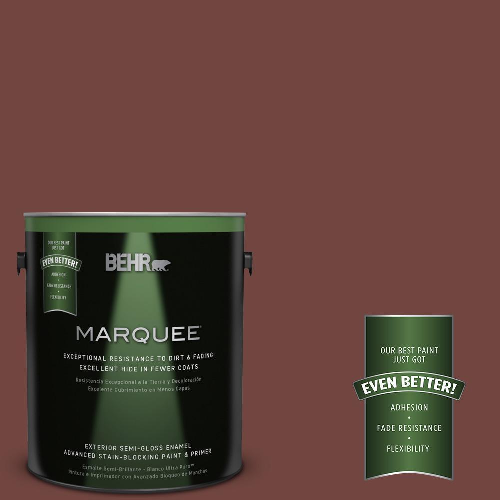 BEHR MARQUEE 1-gal. #MQ1-19 Dressed to Impress Semi-Gloss Enamel Exterior Paint