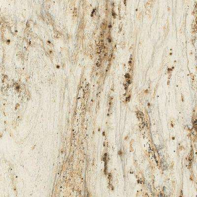 5 in. x 7 in. Laminate Countertop Sample in 180fx River Gold with Etchings Finish