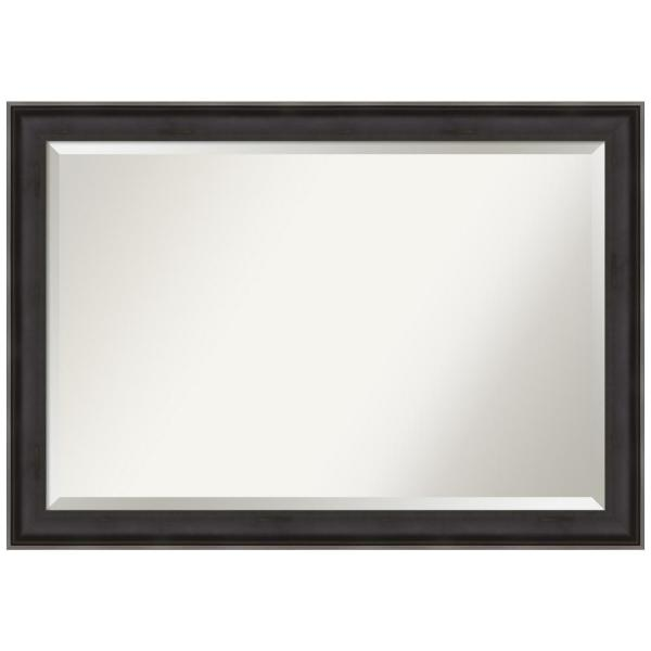 Allure Charcoal 40.38 in. x 28.38 in. Decorative Wall Mirror