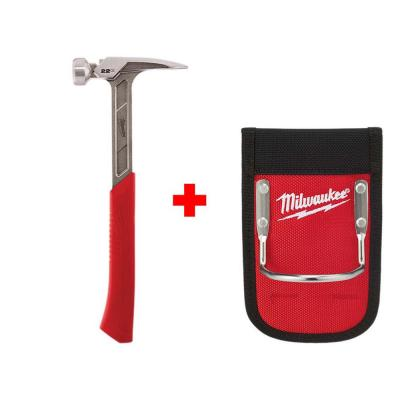 22 oz. Smooth Face Framing Hammer with Hammer Loop