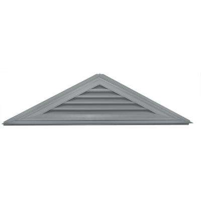 6/12 Triangle Gable Vent #030 Paintable