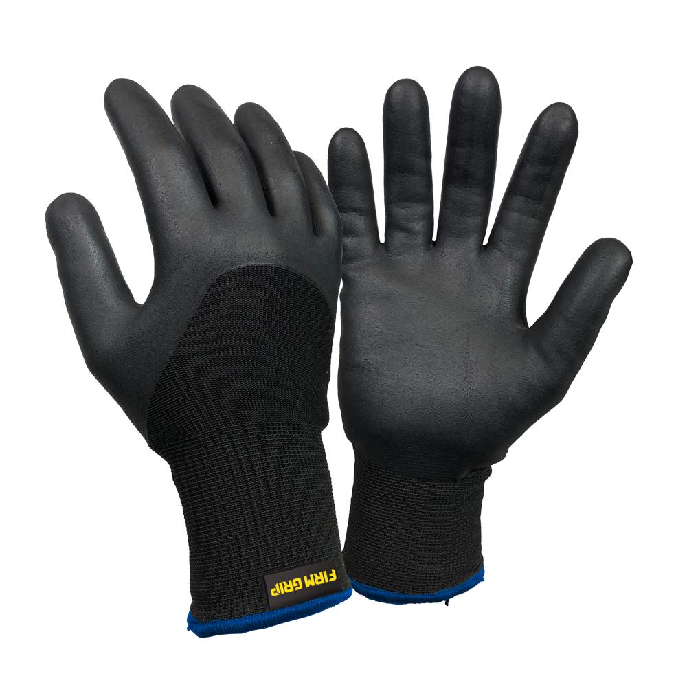 Firm Grip Nitrile Coated with Liner LargeGlove