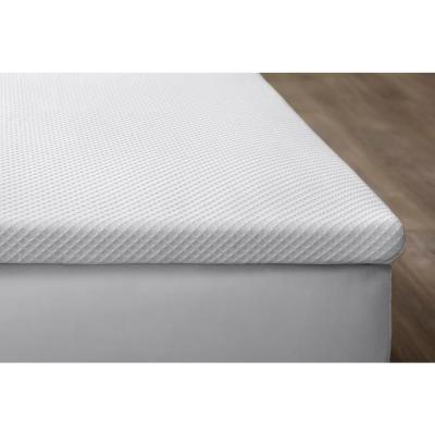 2 in. Diamond Quilted Cover Gel Infused Foam Mattress Topper