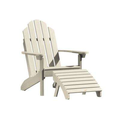 Classic Westport Whitewash 2-Piece Recycled Plastic Outdoor Seating Set