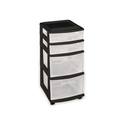 4-Drawer Medium Cart