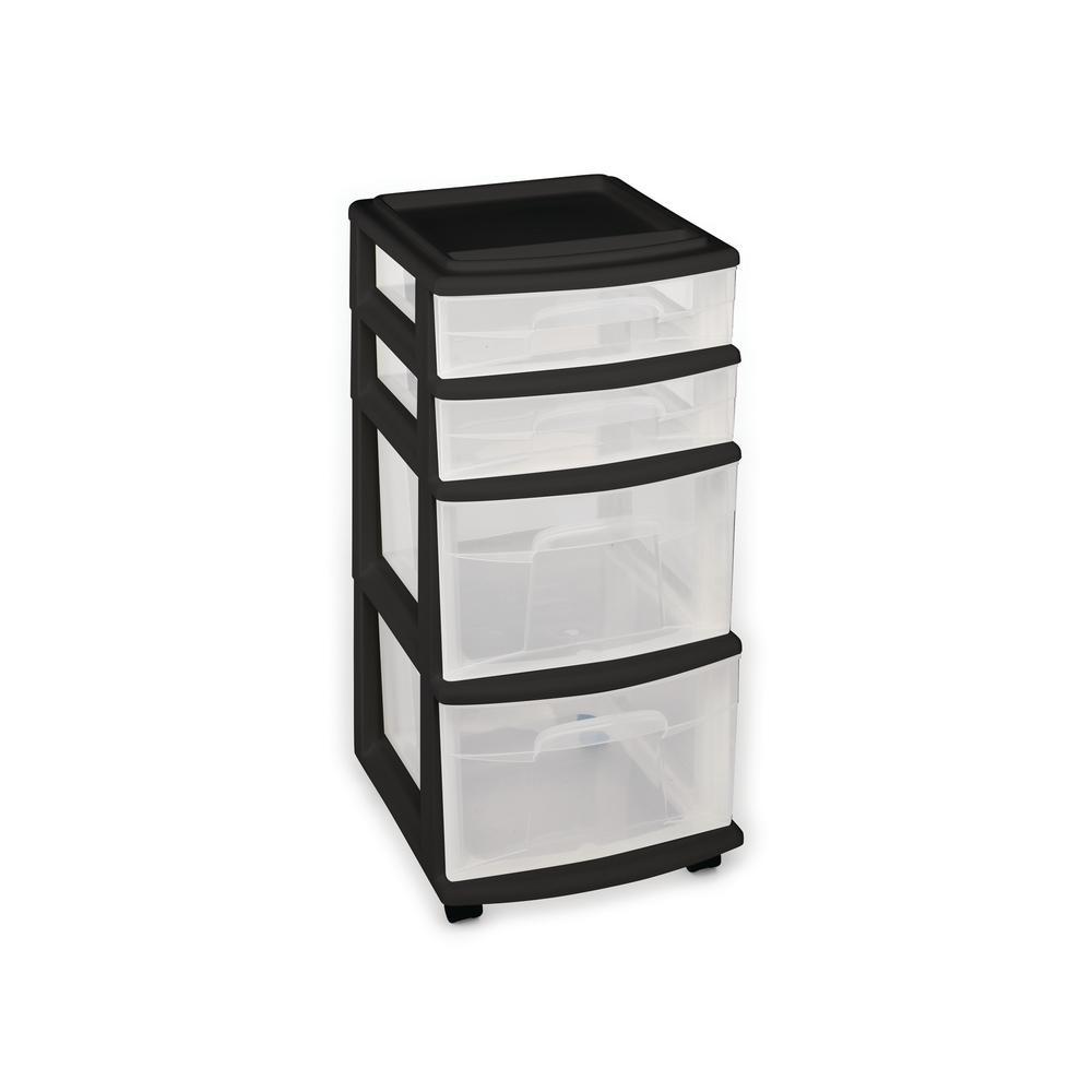 4-Drawer Medium Cart