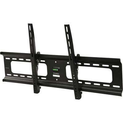 Low-Profile Tilting TV Wall Mount for 37 in. - 70 in. Flat/Curved Panel TVs with 10 Degree Tilt, 165 lb. Load Capacity