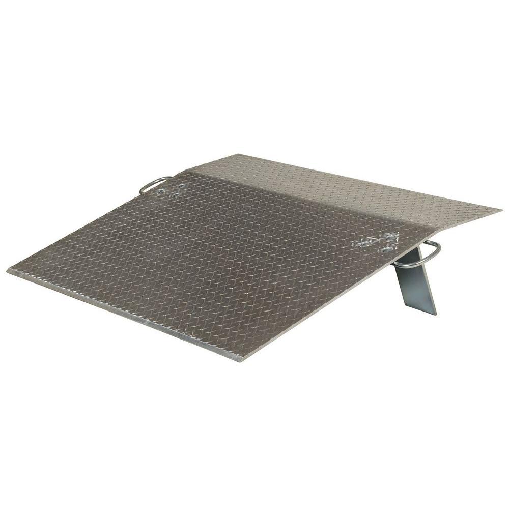 Vestil 3,500 lb. 48 in. x 36 in. x 0.38 in. Aluminum Economy Dockplate