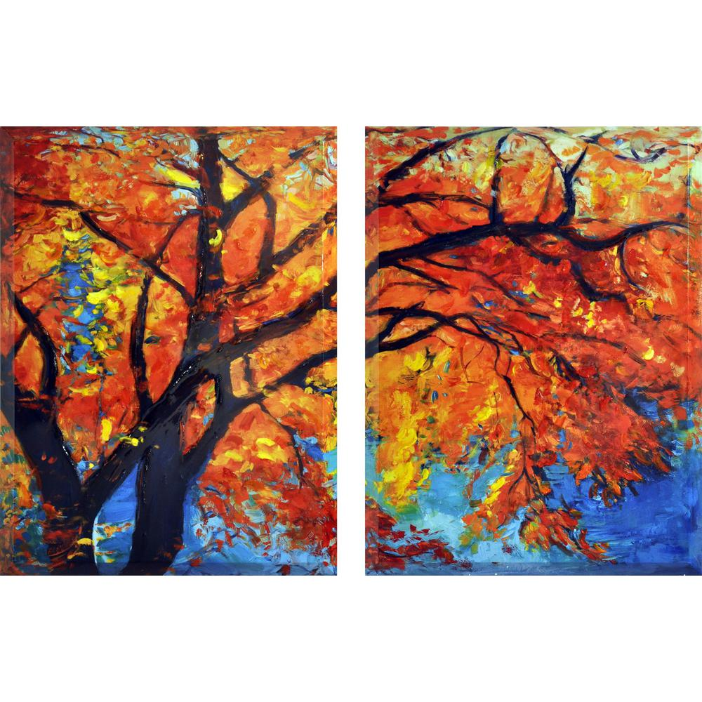 "40 In. X 30 In. ""Autumn"""