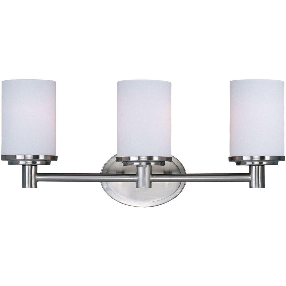 Satin Nickel Bath Vanity Light 9053swsn