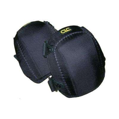 Pair of Polyester Black Pro Flooring Kneepads