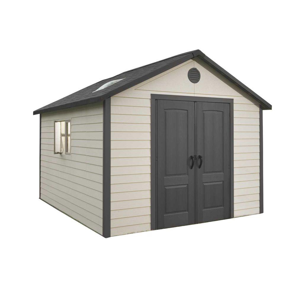 Lifetime 11 ft. x 13.5 ft. Outdoor Storage Building