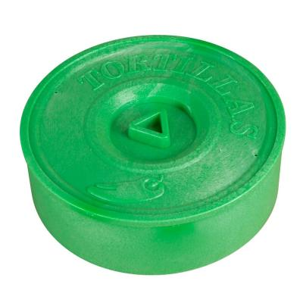 5 Qt. Green Plastic Tortilla Warmer