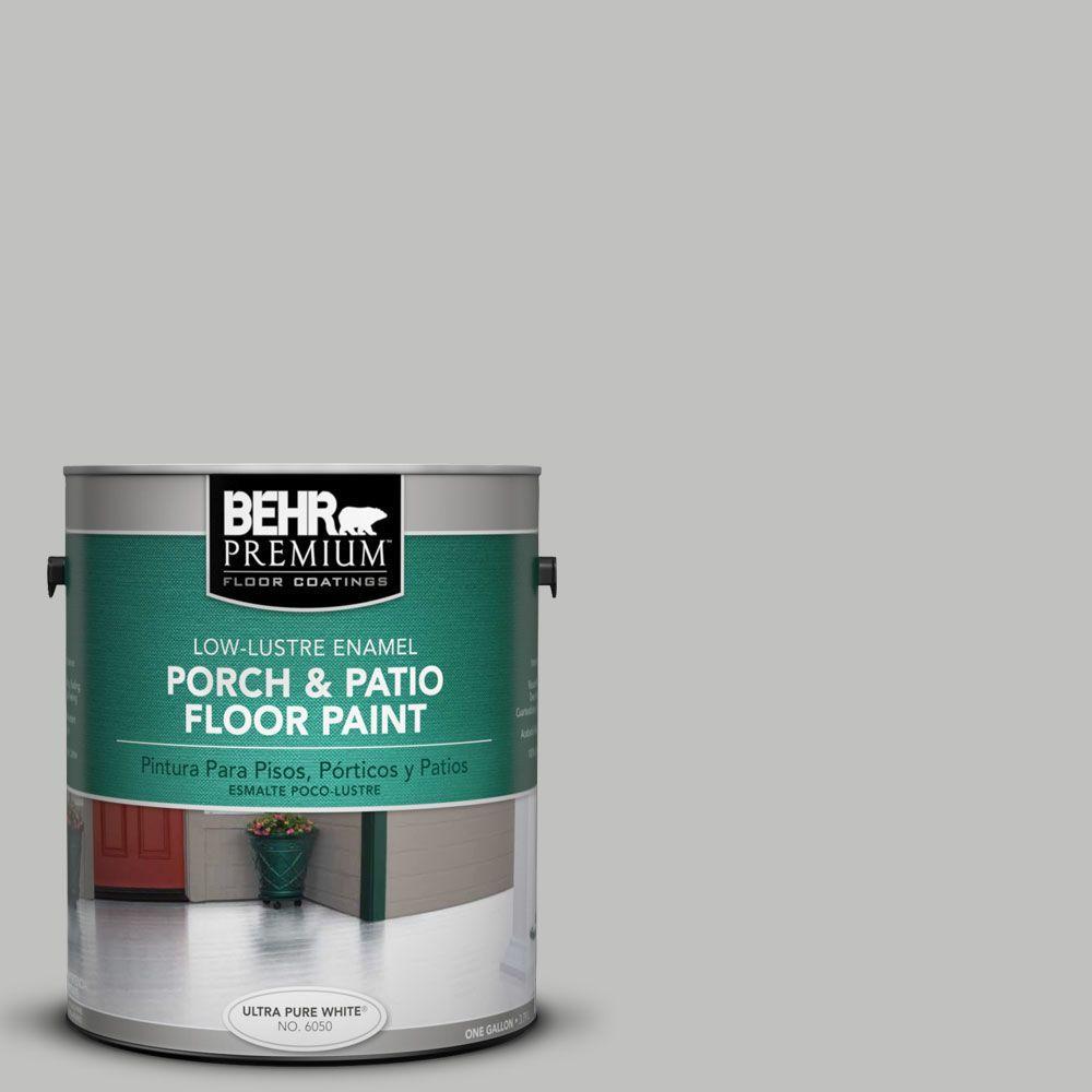 BEHR Premium 1 gal. #PFC-62 Pacific Fog Low-Lustre Interior/Exterior Porch and Patio Floor Paint