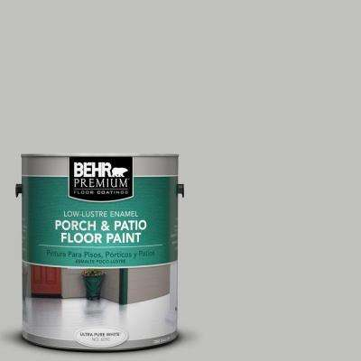1 gal. #PFC-62 Pacific Fog Low-Luster Interior/Exterior Porch and Patio Floor Paint