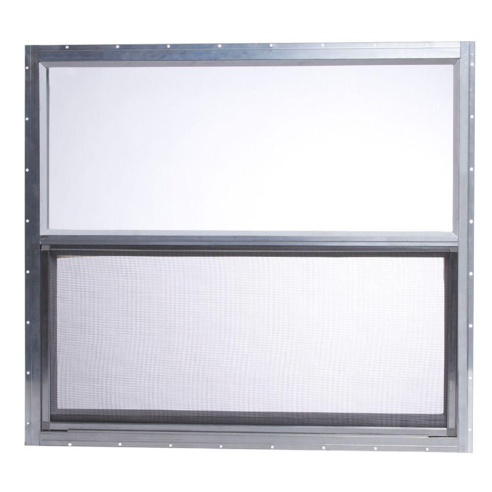 TAFCO WINDOWS 31.75 in. x 28.625 in. Mobile Home Single Hung ...