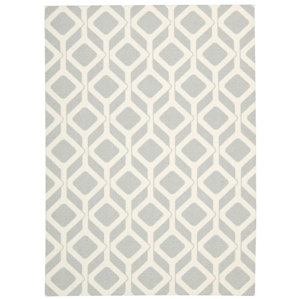 Nourison Enhance Grey 2 ft. 6 in. x 4 ft. Accent Rug