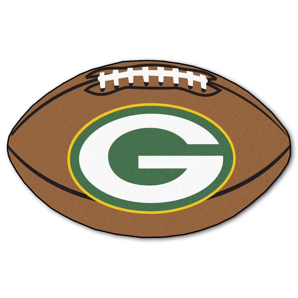 531ccfab37f This review is from NFL Green Bay Packers Brown 2 ft. x 3 ft. Specialty Area  Rug