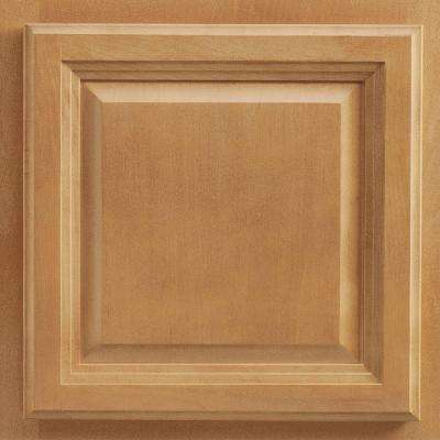 13x12-7/8 in. Portland Maple Cabinet Door Sample in Spice