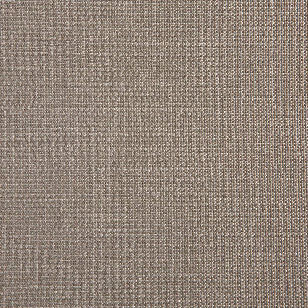 Hampton Bay Tobago Gray Patio Ottoman Slipcover