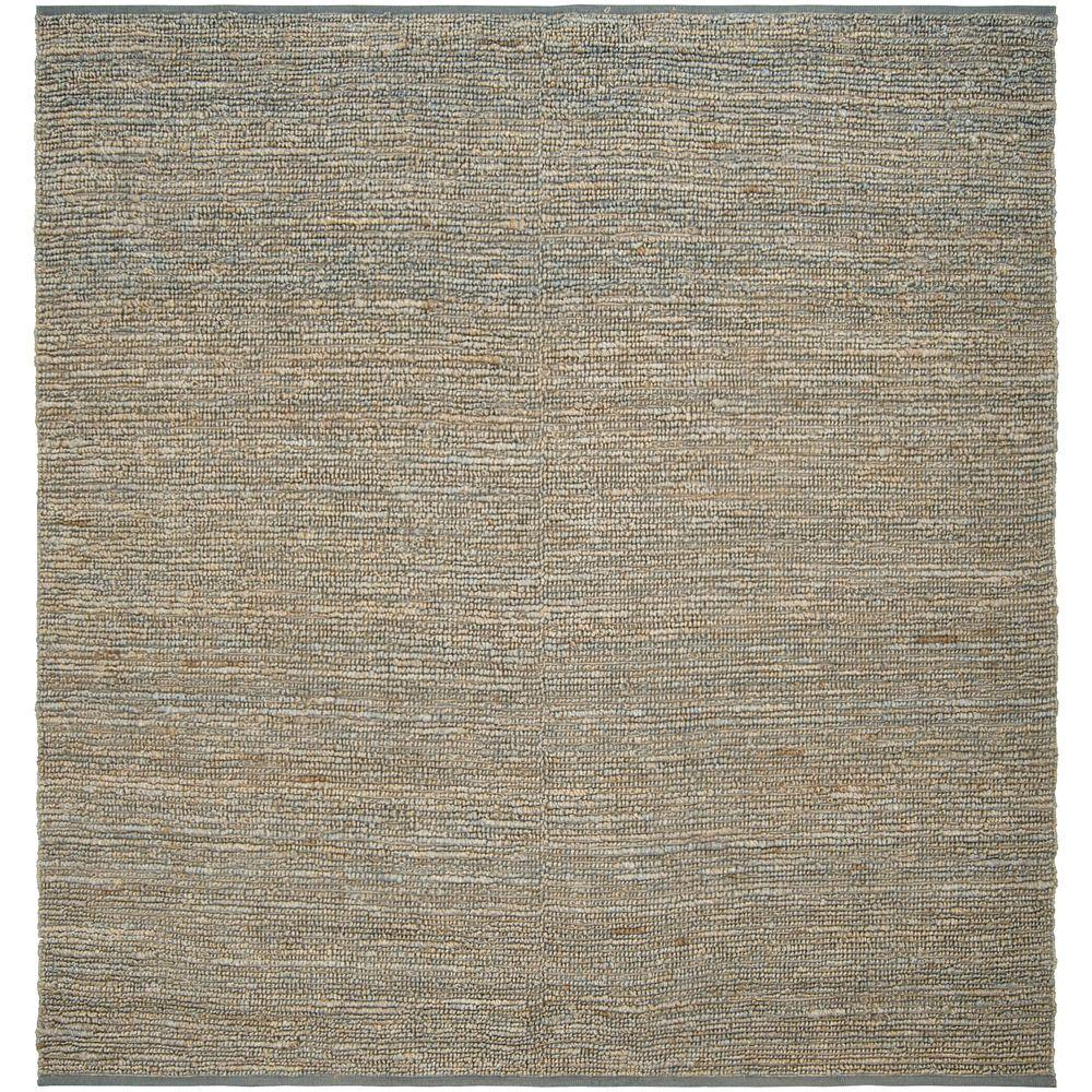 Artistic Weavers Rio Gray Blue 8 ft. x 8 ft. Square Area Rug