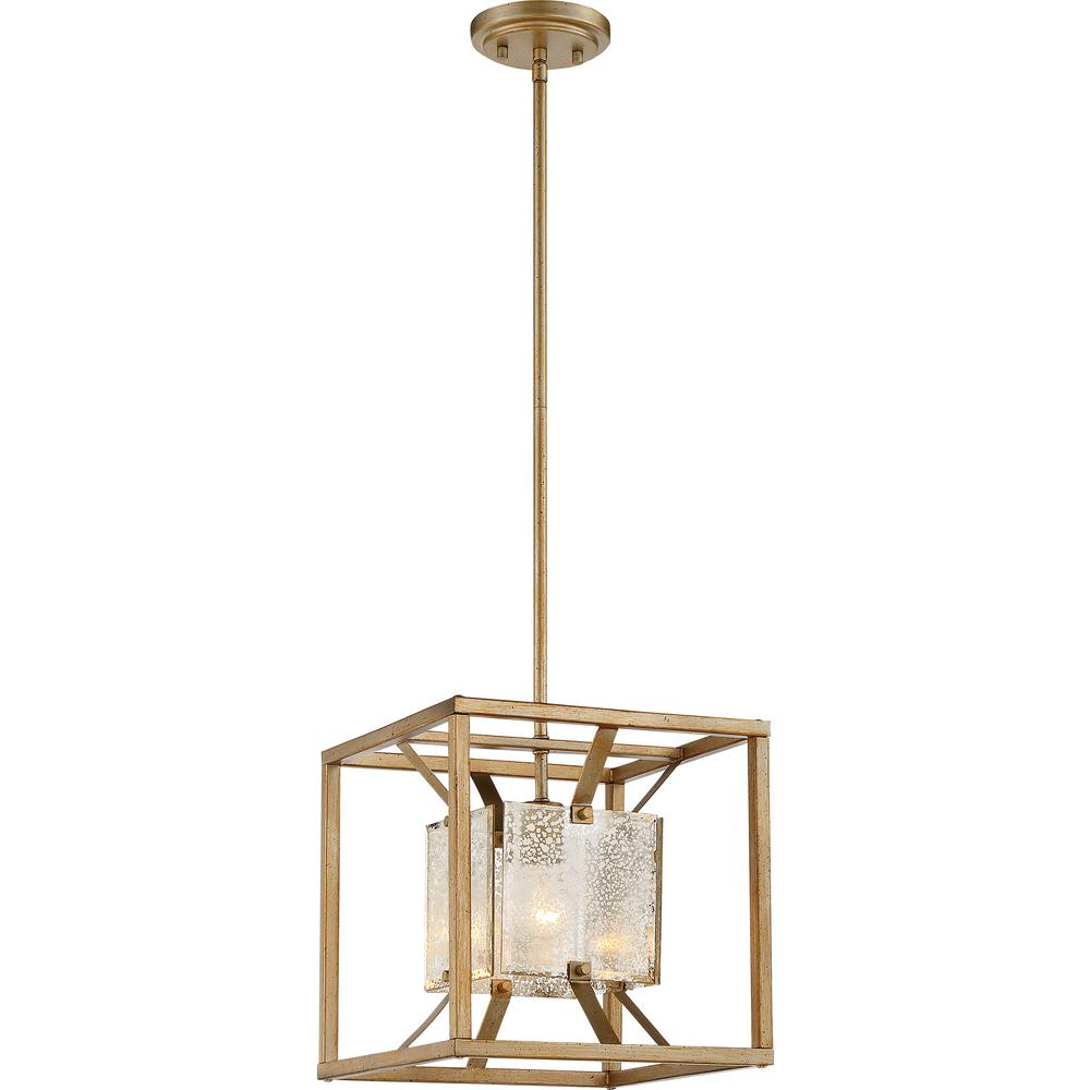 FilamentDesign Filament Design 1-Light Antique Gold Pendant