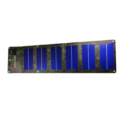 12-Volts Foldable Camo Edition Solar Panel