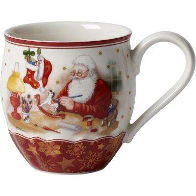 Toy's Fantasy 15.25 oz. Red Jumbo Mug, Santa's Workshop