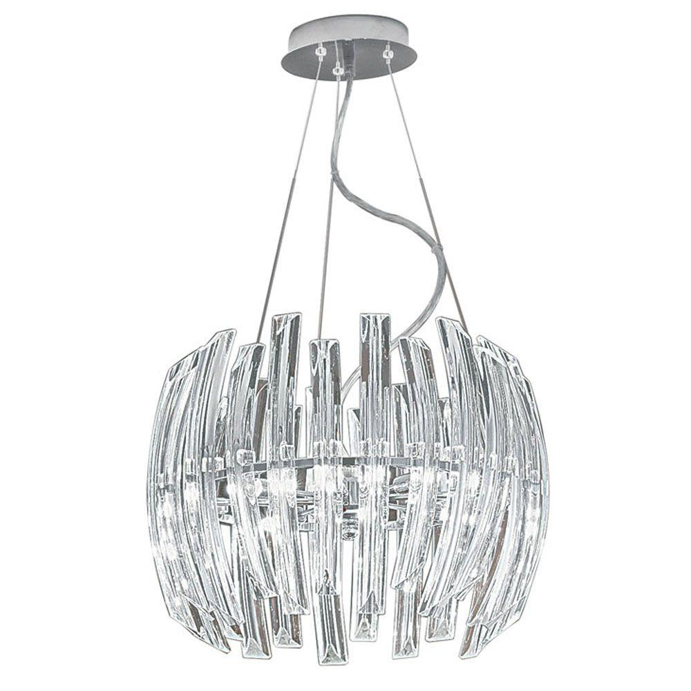 Eglo Drifter 6-Light Chrome Chandelier
