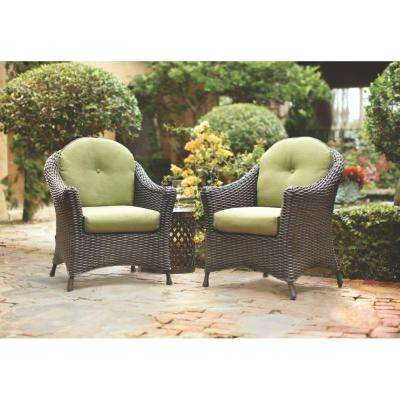 Lake Adela Patio Charcoal Chat Chairs ...