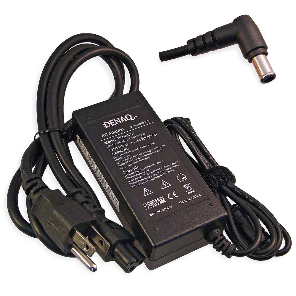 19.5-Volt 2.15 Amp 6.0 mm-4.4 mm AC Adapter for SONY PCG