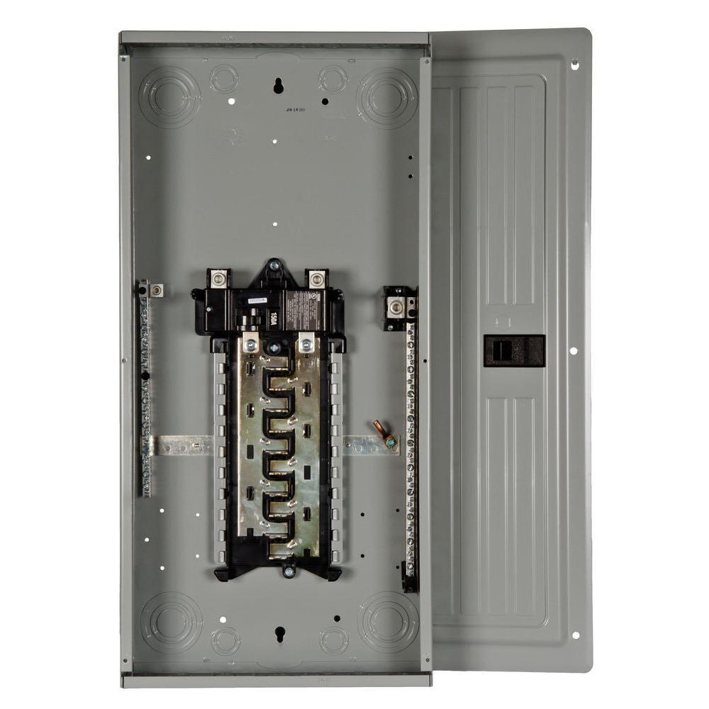 Ge Powermark Gold 150 Amp 24 Space 42 Circuit Indoor Main Breaker Circuit Breaker Panel Tm2415c42 The Home Depot