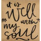 undefined Well with My Soul Square Pillow