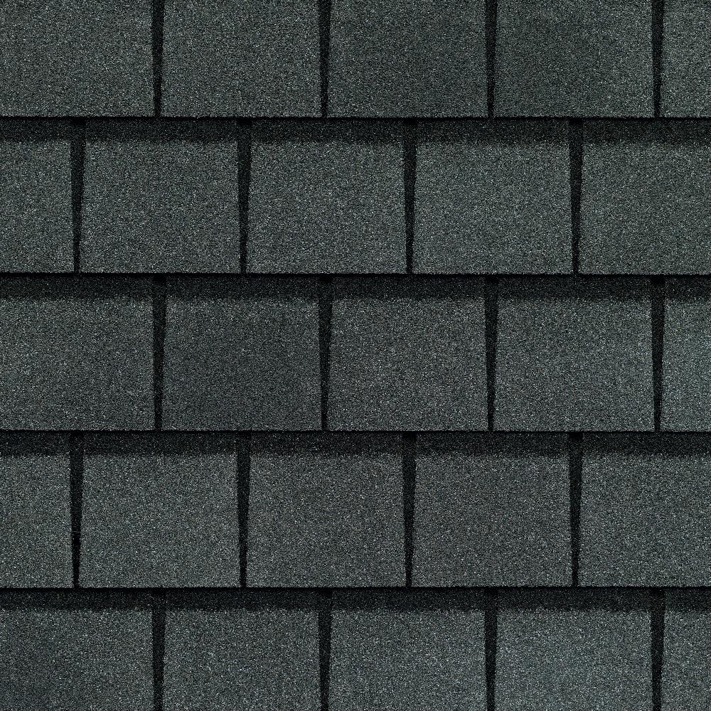 GAF Installed GAF Slateline Lifetime Laminated Designer Asphalt – Laminated Asphalt Roofing Shingles