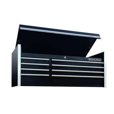 THD Series 55 in. 8-Drawer Top Chest in Black