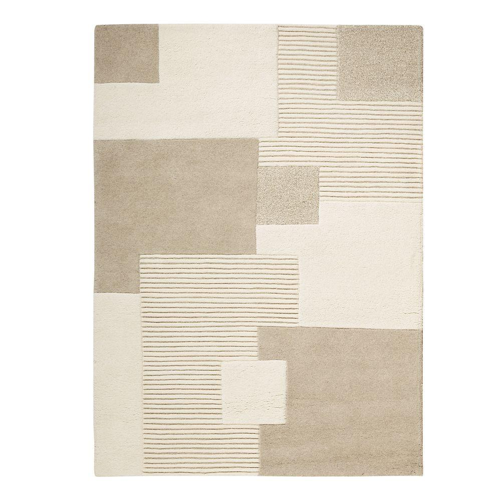 Home Decorators Collection Clara Natural 9 ft. 6 in. x 13 ft. 6 in. Area Rug